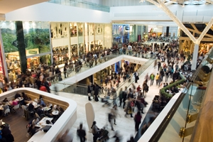 More shoppers are returning to malls, potentially missing out on online savings